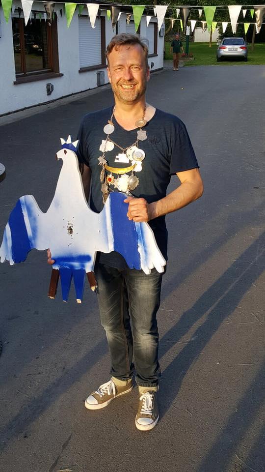 Kai Heinert, Laubkönig 2016